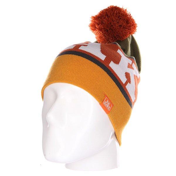 Шапка носок Dakine Kineda Harvest/Moss<br><br>Цвет: зеленый,оранжевый,коричневый<br>Тип: Шапка носок<br>Возраст: Взрослый