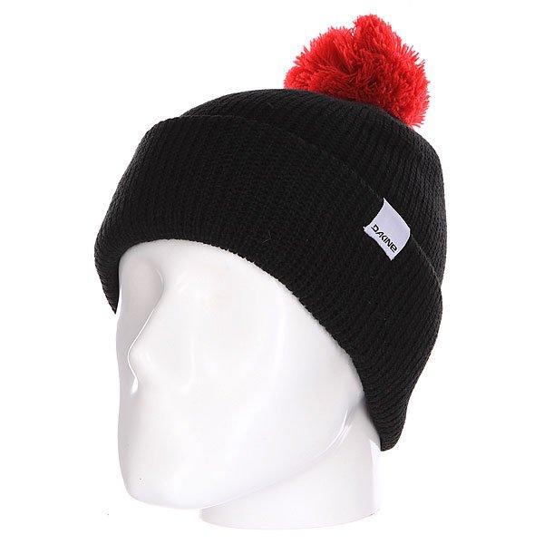 Шапка Dakine Elmo Black<br><br>Цвет: черный,красный<br>Тип: Шапка<br>Возраст: Взрослый