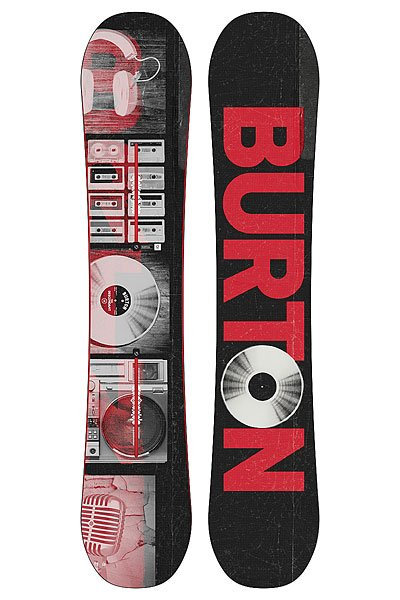 Сноуборд Burton Descendant 148 Black