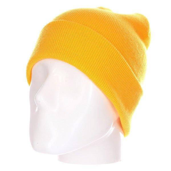 Шапка носок TrueSpin Basic Style Yellow<br><br>Цвет: желтый<br>Тип: Шапка носок<br>Возраст: Взрослый<br>Пол: Мужской