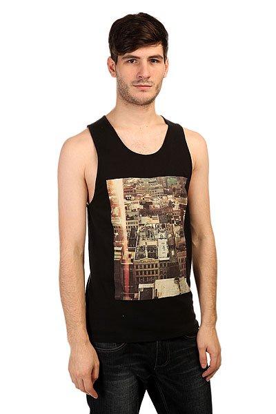 Майка Globe Cityscape Singlet BlackСовременная и динамичная одежда от бренда Globe буквально пропитана спортивным духом, а смелые дизайнерские решения подчеркнут Ваш индивидуальный стиль.Технические характеристики:Фасон приталенный (fitted).Фото- принт на груди.<br><br>Цвет: черный<br>Тип: Майка<br>Возраст: Взрослый<br>Пол: Мужской