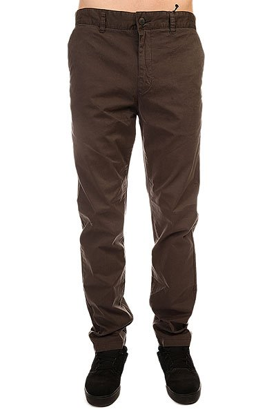 Штаны прямые Globe Goodstock Chino Vintage Black штаны прямые billabong new order chino khaki