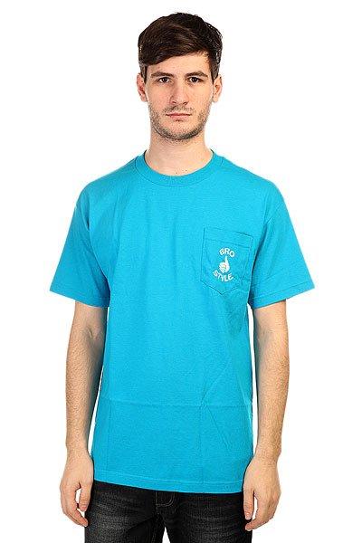 Футболка Bro Style Pocket Style Neon BlueОдежда от бренда Bro Style, выполненная в фирменном стиле, буквально заряжена позитивом, при этом она стильная, и соответствует современным тенденциям моды.Технические характеристики:Фасон стандартный (Regular fit).Накладной карман на груди с логотипом.Крупный логотип на спине.<br><br>Цвет: синий<br>Тип: Футболка<br>Возраст: Взрослый<br>Пол: Мужской