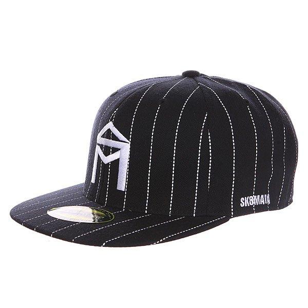 Бейсболка с прямым козырьком Sk8mafia Og Logo New Era Black/White<br><br>Цвет: черный,белый<br>Тип: Бейсболка с прямым козырьком<br>Возраст: Взрослый