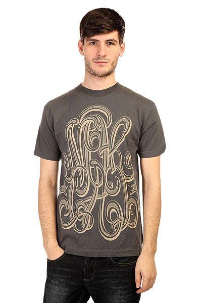 Футболка Nor Cal Republic BlackСтильная футболка от Nor Cal с принтом в стиле Хиппи.Технические характеристики: Фасон стандартный (Regular fit).Объемный принт на груди.<br><br>Цвет: серый<br>Тип: Футболка<br>Возраст: Взрослый<br>Пол: Мужской
