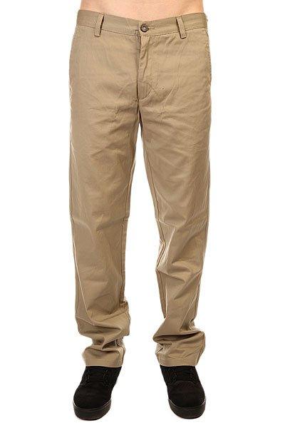 Штаны прямые Enjoi Boo Chino Khaki<br><br>Цвет: бежевый<br>Тип: Штаны прямые<br>Возраст: Взрослый<br>Пол: Мужской