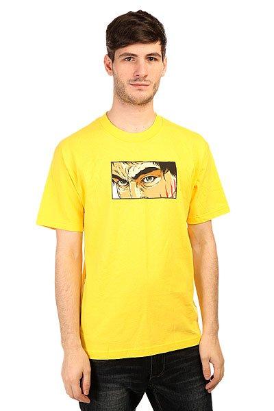 Футболка Plan B Fury Yellow<br><br>Цвет: желтый<br>Тип: Футболка<br>Возраст: Взрослый<br>Пол: Мужской