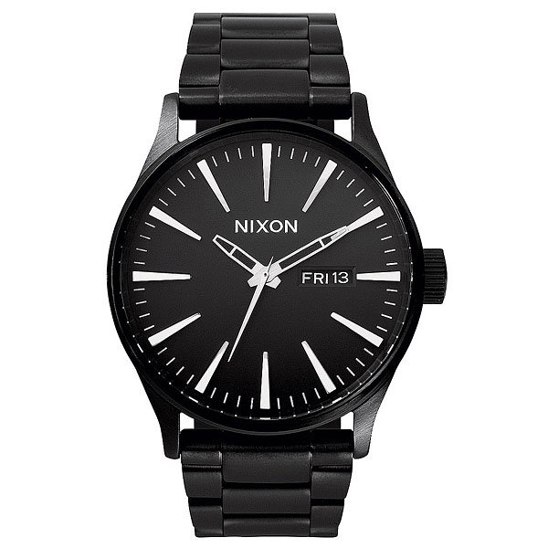 Часы Nixon Sentry Ss All Black часы nixon re run leather all black