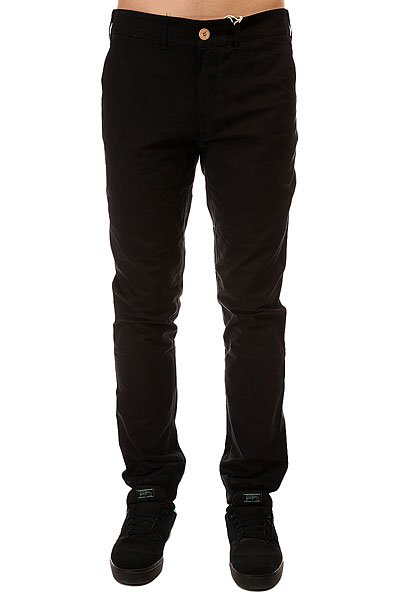 Штаны прямые TrueSpin Chino Pant Black