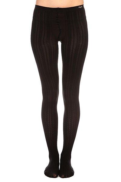 Колготки женские Roxy Footed Opaque Cable Tights True BlackБыть в Roxy с головы до ног? Это возможно!Колготки Roxy Footed Opaque Cablизготовлены из высококачественного материала из смеси нейлона и спандекса, отлично сидят по фигуре и обладают универсальным размером благодаряэластичным свойствам материала. Прекрасный выбор для тех, кто хочет разнообразить свой будничный образ.Характеристики:Женские колготки. Эластичный материал.Универсальный размер. С узором. Фирменный логотип Roxy.<br><br>Цвет: черный<br>Тип: Колготки<br>Возраст: Взрослый<br>Пол: Женский
