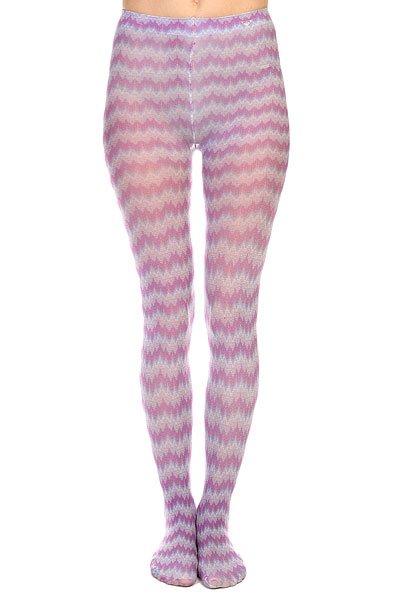 Колготки женские Roxy Pixeled Stripe Tight Magenta