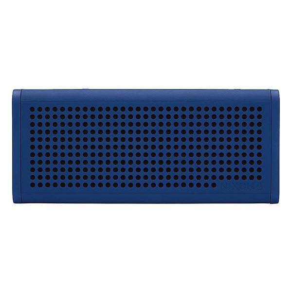 Колонка Nixon Blaster Pro RoyalСделайте свою жизнь более насыщенной с  ясным, четким звуком, Bluetooth технологиями и отличным дизайном.Технические характеристики: Bluetooth подключение позволяет слушать музыку без проводов.Беспроводной диапазон - 10 метров.Мощность - <br>5В RMS x 2.Частота - 200 - 20000 Гц.Водонепроницаемые и ударопрочные.Возможно соединить два динамика для стерео звука. Аккумуляторная батарея с дополнительной емкостью до 10 часов.Удобные кнопки громкости и воспроизведения для дистанционного управления вашей музыкой.Вспомогательный стерео вход для подключения проводных устройств с помощью прилагаемого аудио кабеля.В комплект входит - USB кабель для зарядки, AUX аудио кабель,USB адаптер.<br><br>Цвет: синий<br>Тип: Колонка