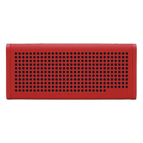 Колонка Nixon Blaster Pro RedСделайте свою жизнь более насыщенной с  ясным, четким звуком, Bluetooth технологиями и отличным дизайном.Технические характеристики: Bluetooth подключение позволяет слушать музыку без проводов.Беспроводной диапазон - 10 метров.Мощность - <br>5В RMS x 2.Частота - 200 - 20000 Гц.Водонепроницаемые и ударопрочные.Возможно соединить два динамика для стерео звука. Аккумуляторная батарея с дополнительной емкостью до 10 часов.Удобные кнопки громкости и воспроизведения для дистанционного управления вашей музыкой.Вспомогательный стерео вход для подключения проводных устройств с помощью прилагаемого аудио кабеля.В комплект входит - USB кабель для зарядки, AUX аудио кабель,USB адаптер.<br><br>Цвет: красный<br>Тип: Колонка