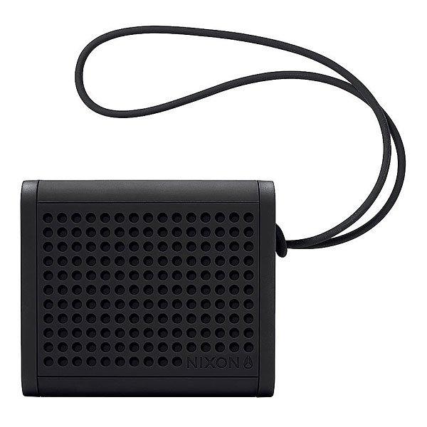 Колонка Nixon Mini Blaster BlackСделайте свою жизнь более насыщенной с  ясным, четким звуком, Bluetooth технологиями и отличным дизайном.Технические характеристики: Bluetooth подключение позволяет слушать музыку без проводов.Беспроводной диапазон - 10 метров.Мощность -   3В RMS x 2.Частота - 200 - 20000 Гц.Водонепроницаемые и ударопрочные.Возможно соединить два динамика для стерео звука. Аккумуляторная батарея с дополнительной емкостью до 10 часов.В комплект входит - USB кабель для зарядки, AUX аудио кабель,USB адаптер.<br><br>Цвет: черный<br>Тип: Колонка<br>Возраст: Взрослый
