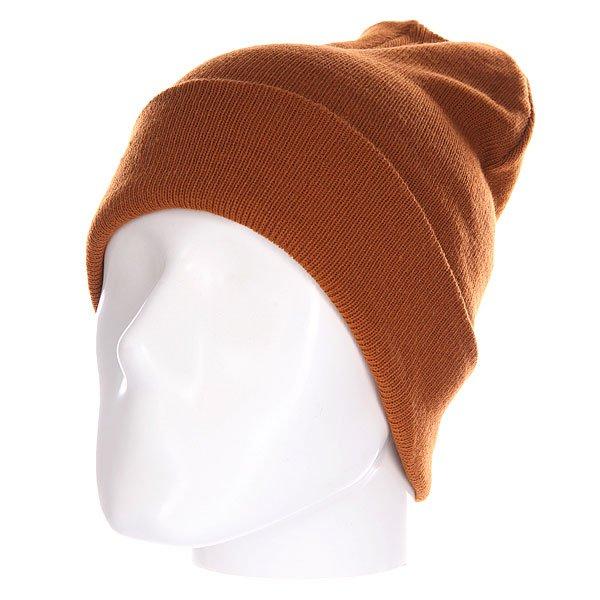 Шапка Today Everyday Beanie Brown<br><br>Цвет: коричневый<br>Тип: Шапка<br>Возраст: Взрослый<br>Пол: Мужской