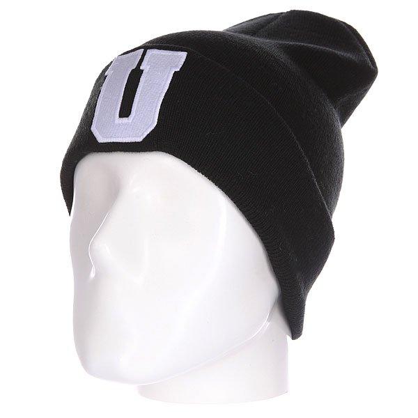 Шапка Truespin Abc Beanie Black U<br><br>Цвет: черный<br>Тип: Шапка<br>Возраст: Взрослый<br>Пол: Мужской