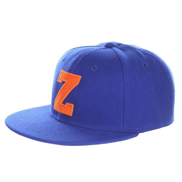 Бейсболка с прямым козырьком Truespin Abc Royal Z<br><br>Цвет: синий<br>Тип: Бейсболка с прямым козырьком<br>Возраст: Взрослый<br>Пол: Мужской