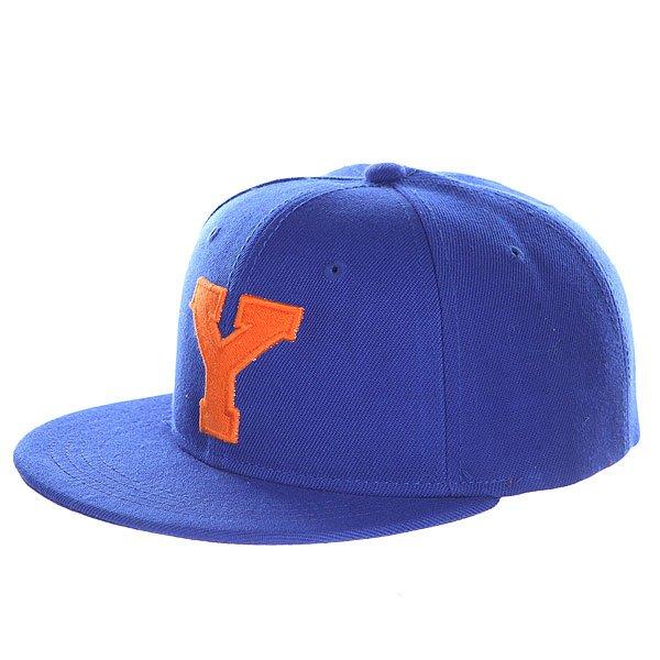 Бейсболка с прямым козырьком Truespin Abc Royal Y<br><br>Цвет: синий<br>Тип: Бейсболка с прямым козырьком<br>Возраст: Взрослый