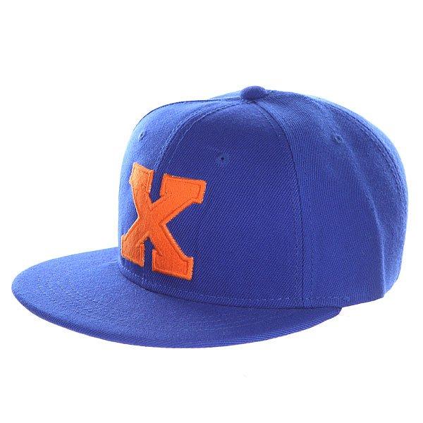 Фото Бейсболка с прямым козырьком Truespin Abc Royal X. Купить с доставкой
