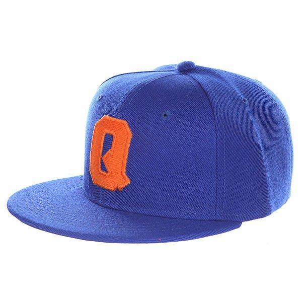 Бейсболка с прямым козырьком Truespin Abc Royal Q<br><br>Цвет: синий<br>Тип: Бейсболка с прямым козырьком<br>Возраст: Взрослый<br>Пол: Мужской