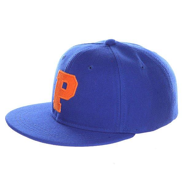 Бейсболка с прямым козырьком Truespin Abc Royal P<br><br>Цвет: синий<br>Тип: Бейсболка с прямым козырьком<br>Возраст: Взрослый<br>Пол: Мужской