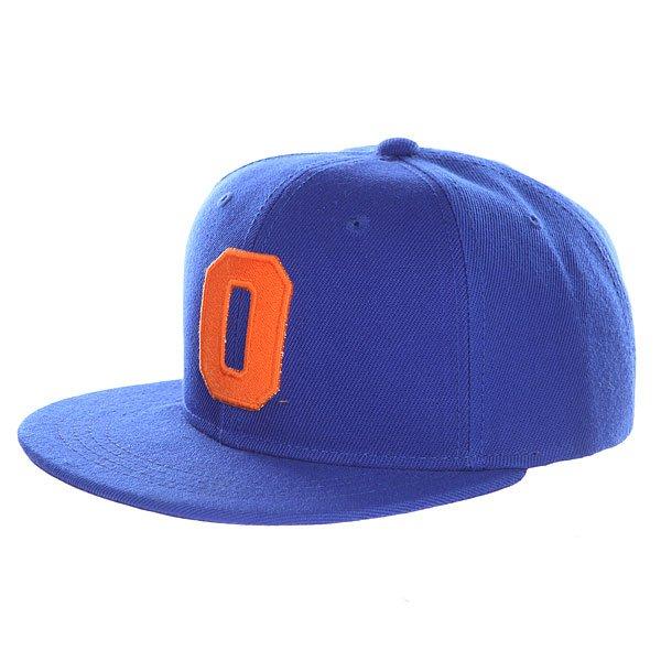 Бейсболка с прямым козырьком Truespin Abc Royal O<br><br>Цвет: синий<br>Тип: Бейсболка с прямым козырьком<br>Возраст: Взрослый<br>Пол: Мужской