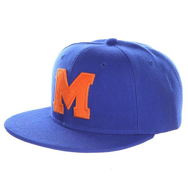 Бейсболка с прямым козырьком Truespin Abc Royal M<br><br>Цвет: синий<br>Тип: Бейсболка с прямым козырьком<br>Возраст: Взрослый<br>Пол: Мужской