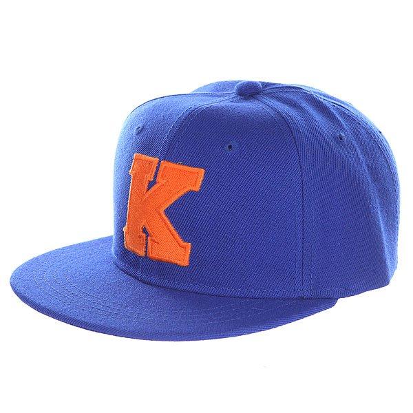 Бейсболка с прямым козырьком Truespin Abc Royal K