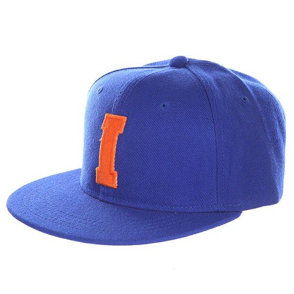 Бейсболка с прямым козырьком Truespin Abc Royal I<br><br>Цвет: синий<br>Тип: Бейсболка с прямым козырьком<br>Возраст: Взрослый