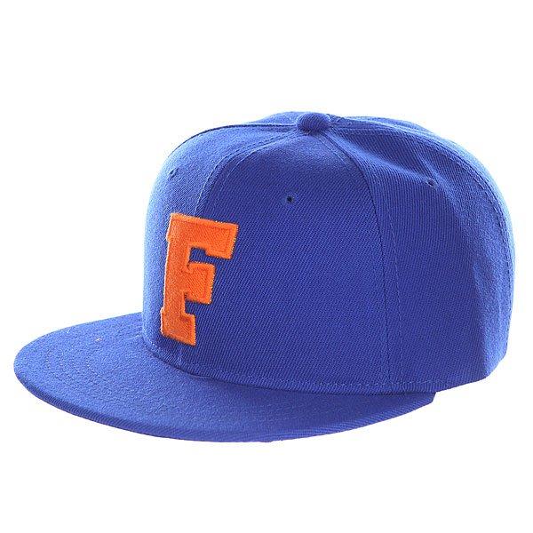 Бейсболка с прямым козырьком Truespin Abc Royal F<br><br>Цвет: синий<br>Тип: Бейсболка с прямым козырьком<br>Возраст: Взрослый
