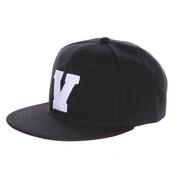 Бейсболка с прямым козырьком Truespin Abc Black V<br><br>Цвет: черный<br>Тип: Бейсболка с прямым козырьком<br>Возраст: Взрослый