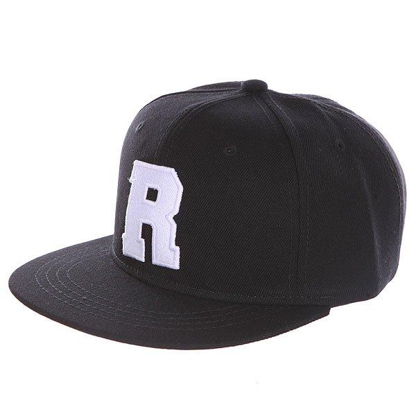 Бейсболка с прямым козырьком Truespin Abc Black R<br><br>Цвет: черный<br>Тип: Бейсболка с прямым козырьком<br>Возраст: Взрослый<br>Пол: Мужской