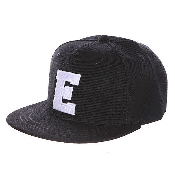Бейсболка с прямым козырьком Truespin Abc Black E