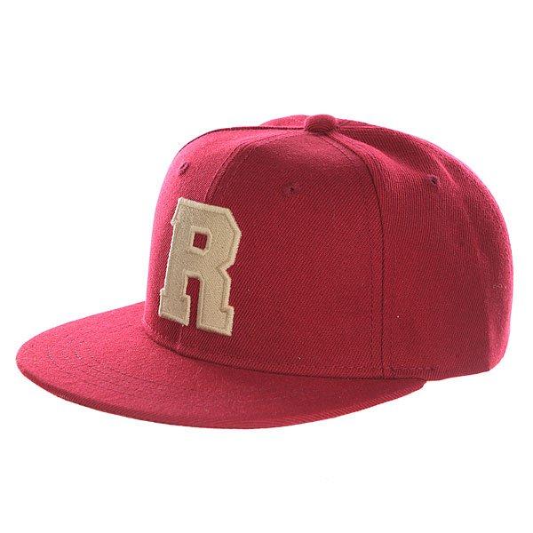 Бейсболка с прямым козырьком Truespin Abc Bordo R<br><br>Цвет: бордовый<br>Тип: Бейсболка с прямым козырьком<br>Возраст: Взрослый