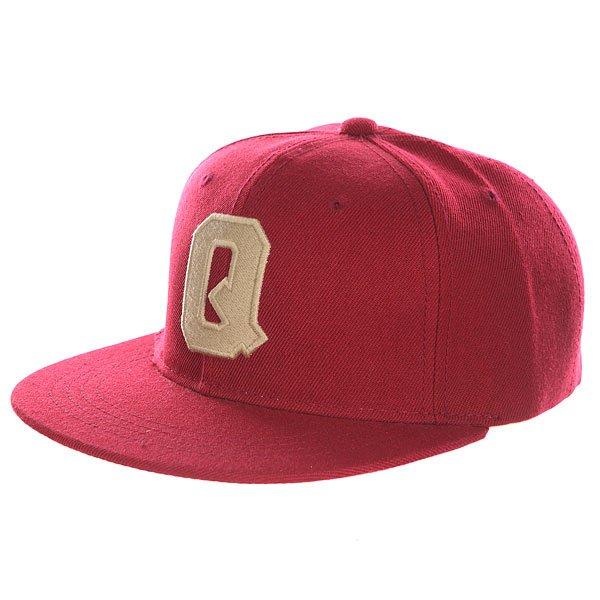 Бейсболка с прямым козырьком Truespin Abc Bordo Q<br><br>Цвет: бордовый<br>Тип: Бейсболка с прямым козырьком<br>Возраст: Взрослый