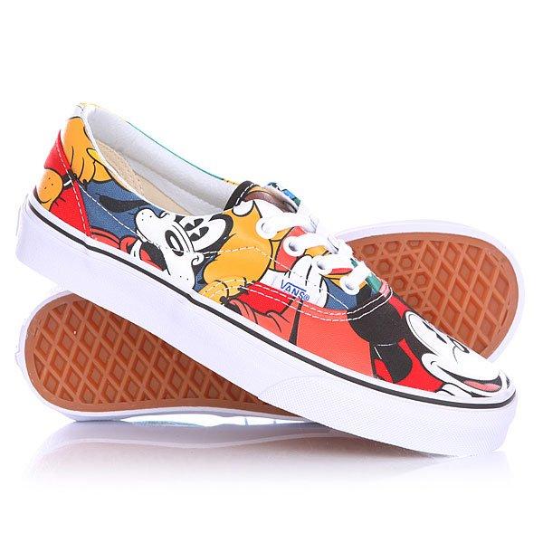 Кеды кроссовки низкие женские Vans Disney Mickey And Friends Multi