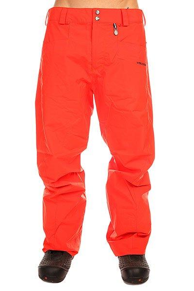Штаны сноубордические Volcom Carbon Pant OrangeЭти штаны объединяют в себе простой дизайн, эргономичный крой и все необходимые характеристики для комфортного катания. Они выполнены из прочного материала Oxford, так что у Вас будет не один шанс показать всё, на что Вы способны.Характеристики:Водостойкая и дышащая мембрана 8K.Прочный двухслойный материал V-Science Oxford II. Подкладка из тафты.Классический крой. Проклеенные критические швы. Регулируемая талия.Трижды усиленный крой на ягодицах (швы). Система вентиляции на молнии с внутренней стороны бедра. Снегозащитные гетры из тафты. Держатель для ски-пасса.<br><br>Цвет: красный<br>Тип: Штаны сноубордические<br>Возраст: Взрослый<br>Пол: Мужской
