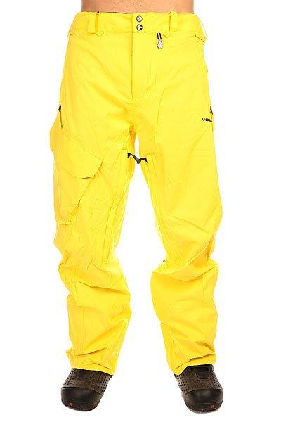 Штаны сноубордические Volcom Ventral Pant Yellow