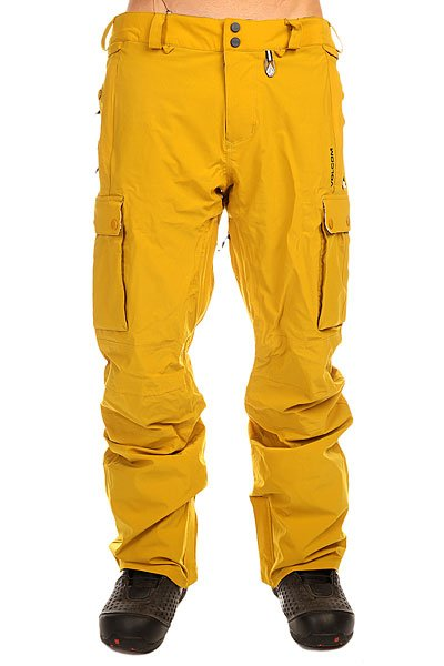 Штаны сноубордические Volcom Ex 4 Way Pant Mustard