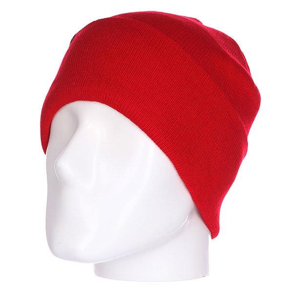 Шапка Shweyka Basic Beanie Cherry<br><br>Цвет: красный<br>Тип: Шапка<br>Возраст: Взрослый<br>Пол: Мужской