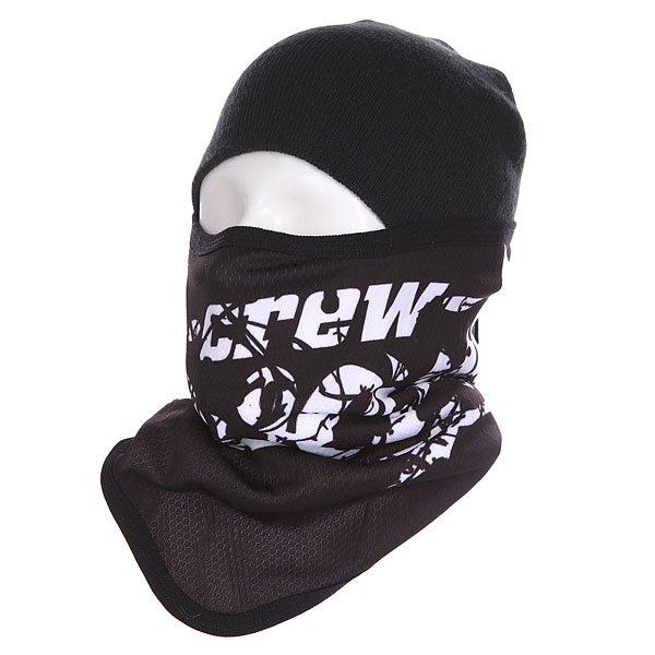 Маска Shweyka Facemask Black/White<br><br>Цвет: черный,белый<br>Тип: Маска<br>Возраст: Взрослый<br>Пол: Мужской