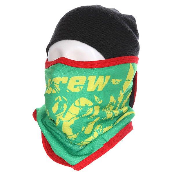 Маска Shweyka Facemask Rasta<br><br>Цвет: зеленый,желтый<br>Тип: Маска<br>Возраст: Взрослый<br>Пол: Мужской