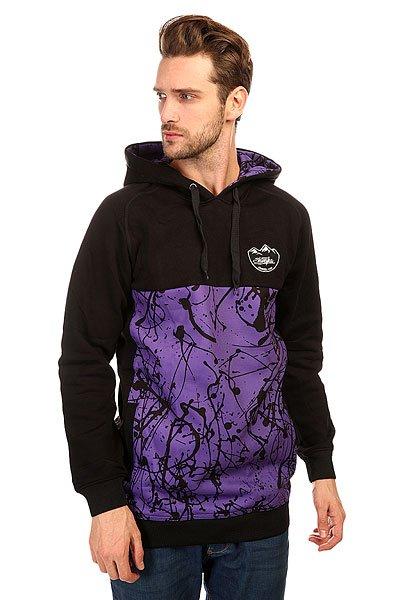 Толстовка сноубордическая Shweyka Blur Hoodie Violet/Black<br><br>Цвет: фиолетовый,черный<br>Тип: Толстовка сноубордическая<br>Возраст: Взрослый<br>Пол: Мужской