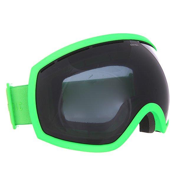 Маска для сноуборда Electric Eg2 Solid Slime+Jet BlackМаска, которая заставит Вас по-новому взглянуть на горы, в буквальном смысле. EG2 - это HDTV на склонах, стандарт гораздо более высокого качества и максимально широкого угла обзора.Характеристики:100% защита от ультрафиолета (UV). Двойные сферические поликарбонатные линзы, крупные. Покрытие, устойчивое к образованию царапин. Противотуманное покрытие. Антибликовое покрытие. Поляризованные линзы. Бонусная линза в комплекте (+BL). Ультра-лёгкая и прочная конструкция из термопластичного уретана. Слой из трёхслойного вспененного материала по контуру, эргономично спроектированного под лицо. Регулируемый ремешок, шириной 43 мм. Совместима со шлемами. Сменная прозрачная линза в комплекте.В комплекте чехол из микрофибры.<br><br>Цвет: зеленый<br>Тип: Маска для сноуборда<br>Возраст: Взрослый<br>Пол: Мужской