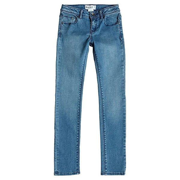 Джинсы узкие детский Roxy Take A Hike G Pant Vintage Med BlueЭти джинсы, новинка 2015 года, отлично дополнят Ваш образ в стиле casual!Мягкий эластичный деним приведет в восторг.Характеристики:Зауженный фасон. Застежка – молния+пуговица.Пятикарманный крой. Петли для ремня на поясе.<br><br>Цвет: синий<br>Тип: Джинсы узкие<br>Возраст: Детский