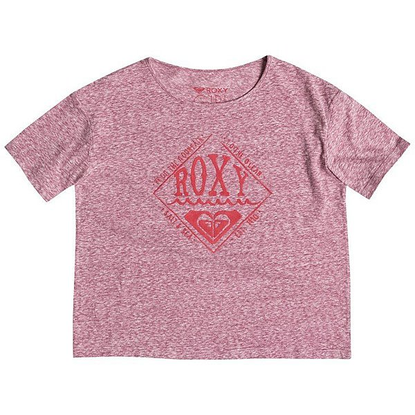 Футболка детская Roxy Rgfashionteeb G Tees Red Plum