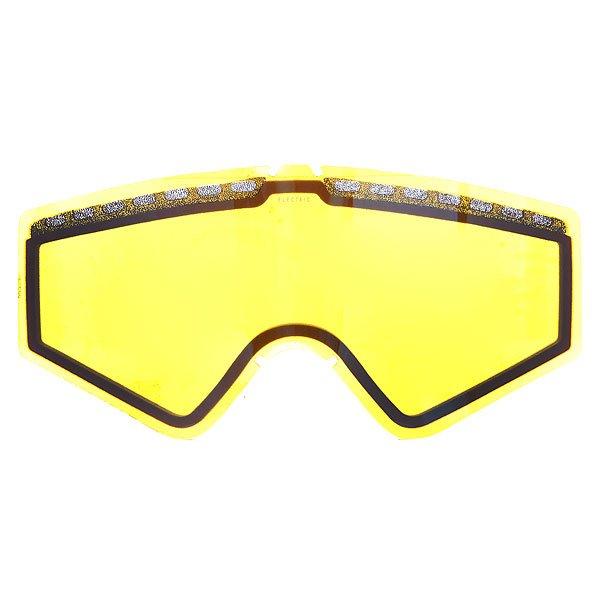 Линза для маски Electric Egv Lens Yellow/Blue Chrome линза для маски oakley repl lens airbrake h i yellow