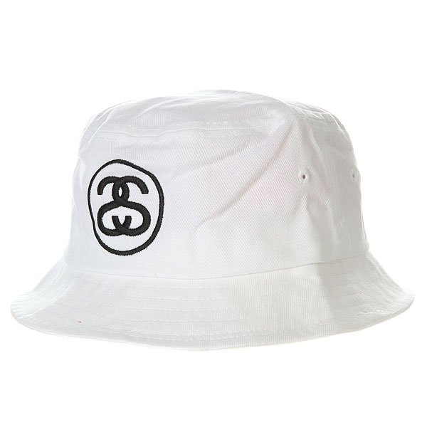 Панама Stussy Link Bucket Hat Shiny White