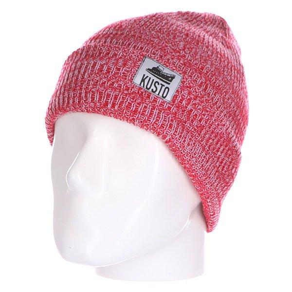 Шапка Kusto Stream 11 Red/WhiteКлассическая вязаная шапка с отворотом. Характеристики:   Закрывает уши Плотная вязка  Подходит для зимы  Сделано в Чебоксарах.<br><br>Цвет: белый,красный<br>Тип: Шапка<br>Возраст: Взрослый<br>Пол: Мужской