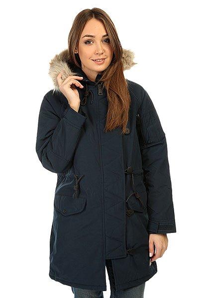 Куртка парка женская Penfield Paxton Long Insulated Snorkle Jacket NavyОбновленная версия излюбленной зимней парки для стильных леди, которые заботятся о своем стиле в любое время года.Характеристики:Внутренняя подкладка из стеганой тафты. Фиксированный капюшон.  Подкладка для подбородка из микрофибры.  Застежка-молния + пуговицы. Регулируемые манжеты. Утепленные карманы для рук. Регулировка ширины пояса.Фасон: парка (parka).<br><br>Цвет: синий<br>Тип: Куртка парка<br>Возраст: Взрослый<br>Пол: Женский